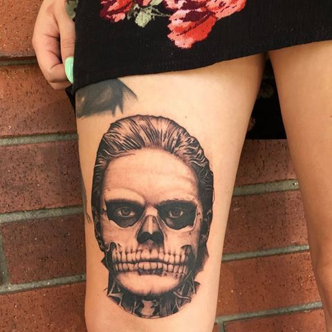 Artistadrien Tattoos Horror Tattoo American Horror Story Tattoo