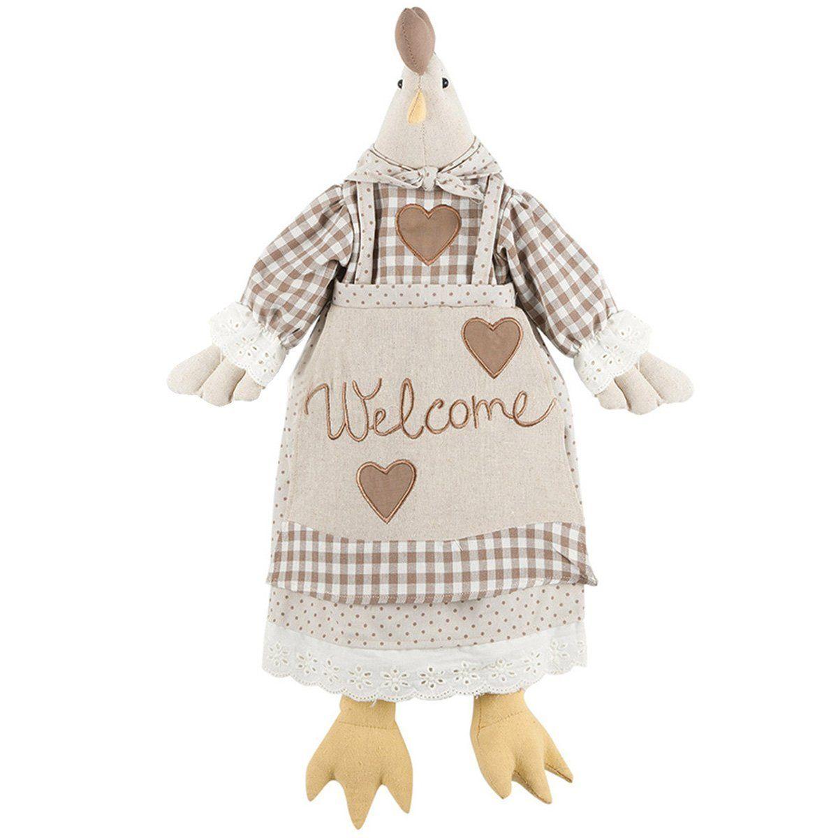 Porta sacchetti gallina ANGELICA Home & Country: Amazon.it: Casa e cucina