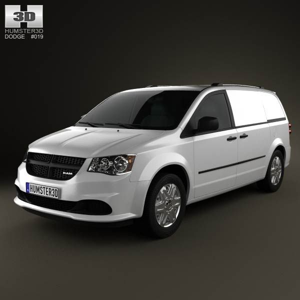 dodge ram cv 2011 3d model from humster3d com  price   75