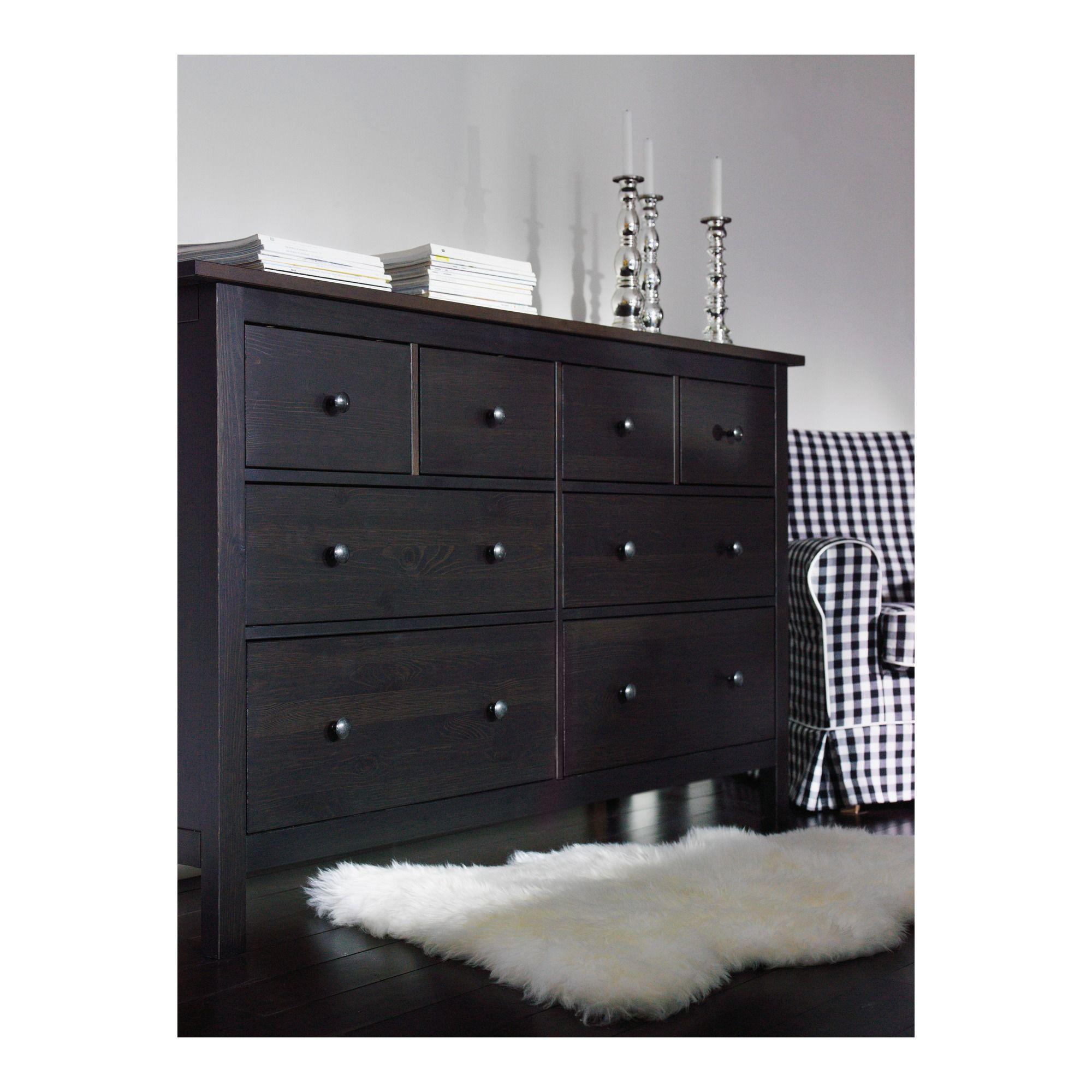 Dresser Chest Of Drawers Ikea Drawersikea Hemnesblack
