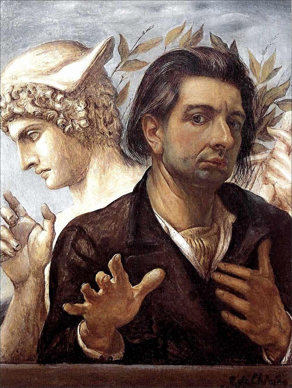 Image result for giorgio de chirico self portrait
