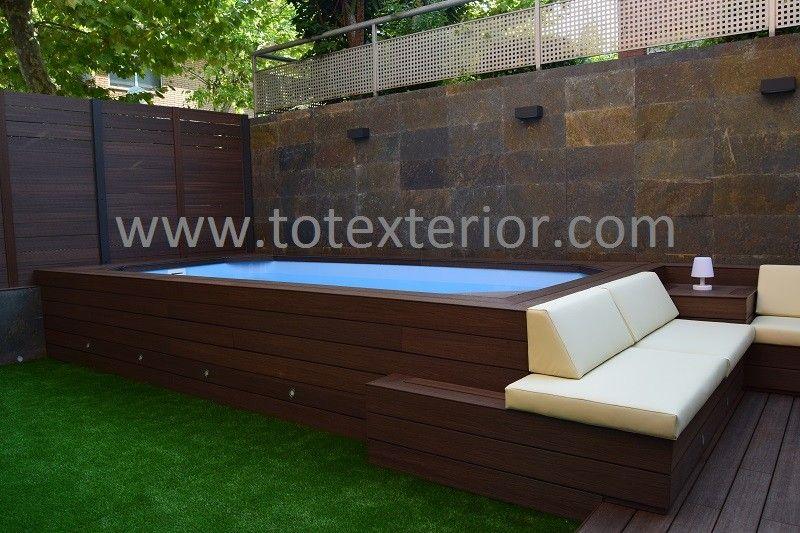 Construcciones - Diseño Terrazas Barcelona - TOTEXTERIOR Piscinas