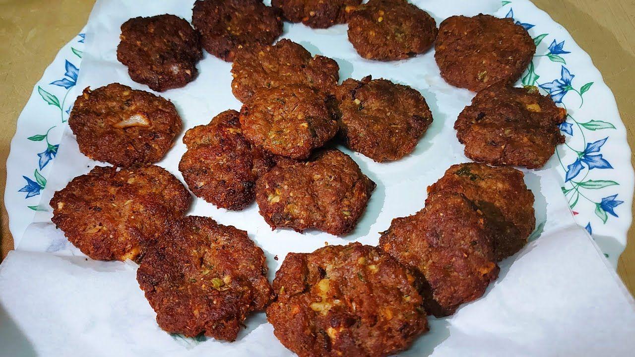 Keema Tikki Kebab Recipe کیما ٹککی کباب ट क क कब ब क उब ल كباب لحم مفروم Keema Tikki Kebab Recipe In This Video You Cooking Recipes Kebab Recipes Cooking