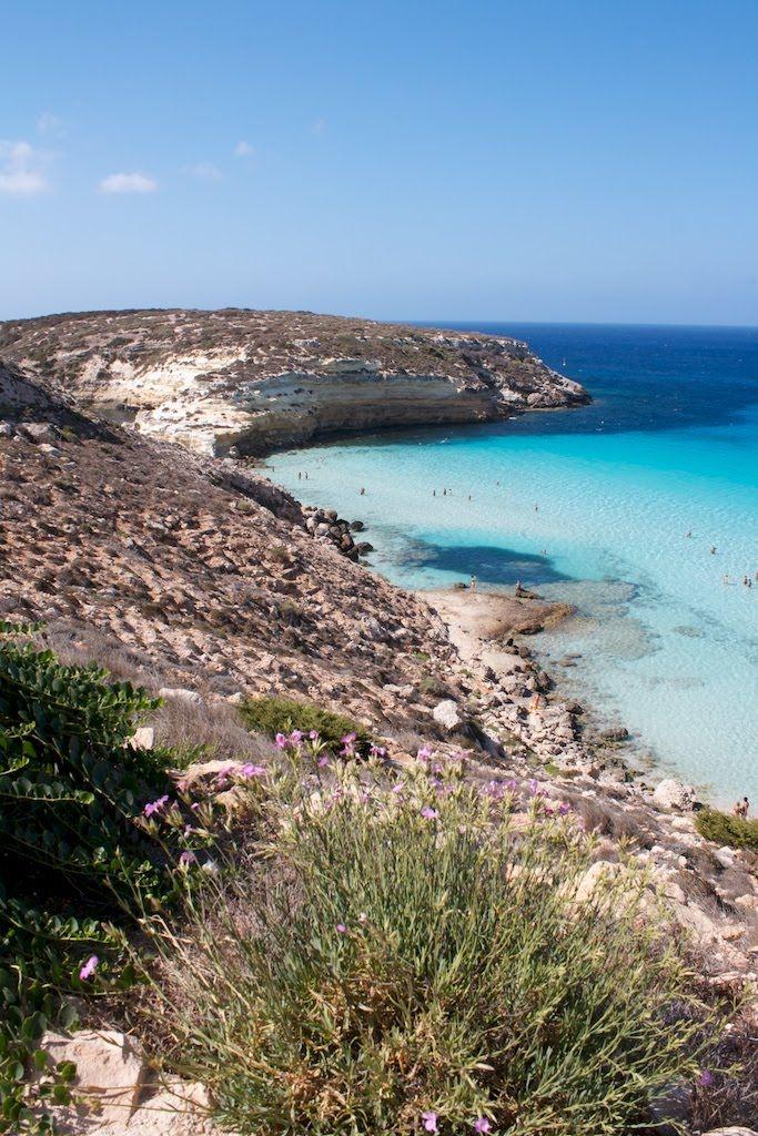 Spiaggia E Isola Dei Conigli Lampedusa E Linosa Agrigento Italia