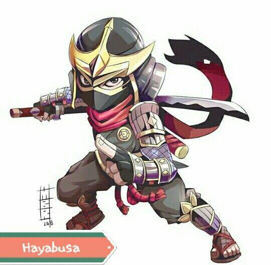 Chibi Kagura Hayabusa Hanabi MobileLegends By Miyusha