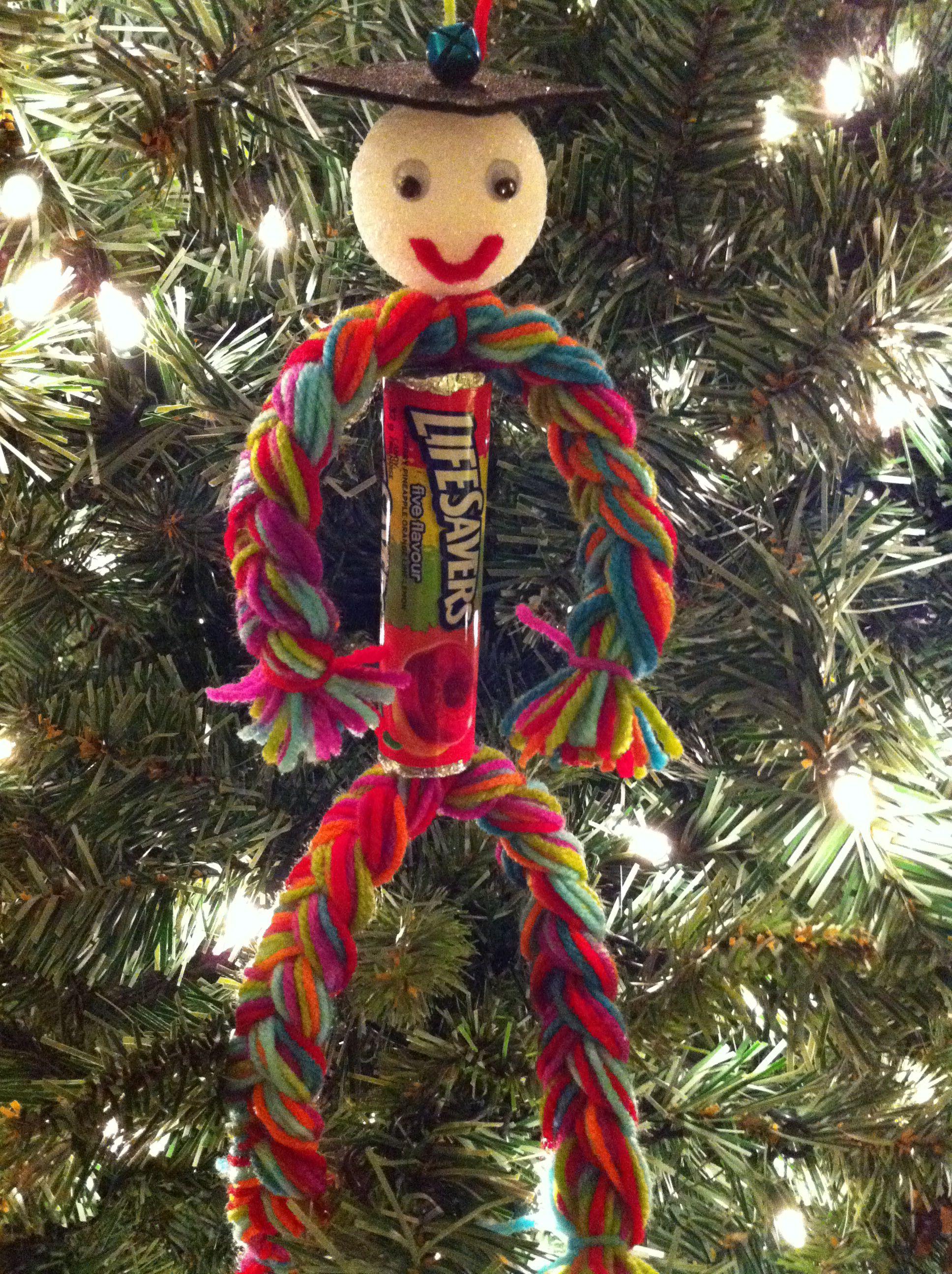 Christmas Lifesavers Man ~~ I used to make these every Christmas and ...