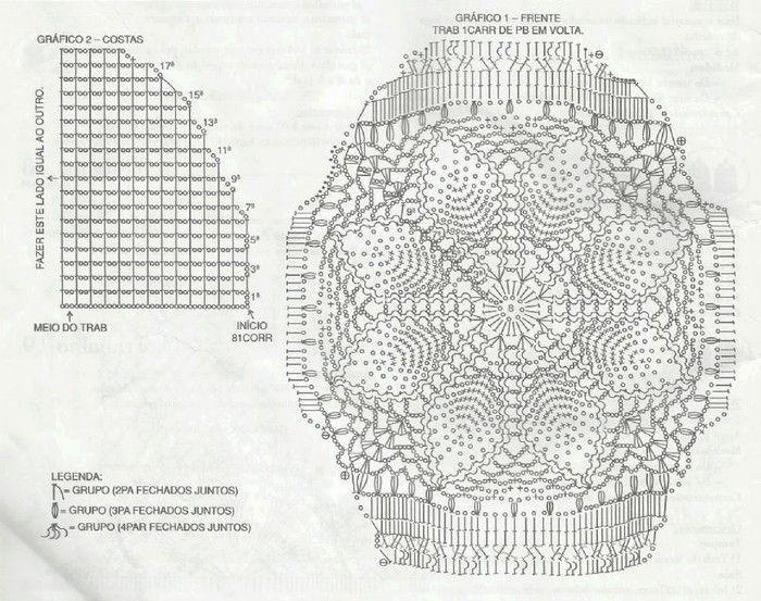 juego-bano-tejido-a-crochet-3 | crochet | Pinterest | Crochet ...