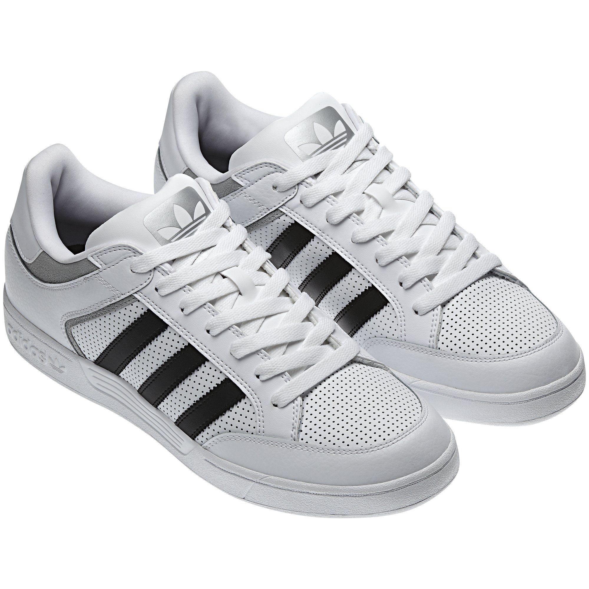 Men's Varial Low Shoes, Running White / Metallic Silver / Black