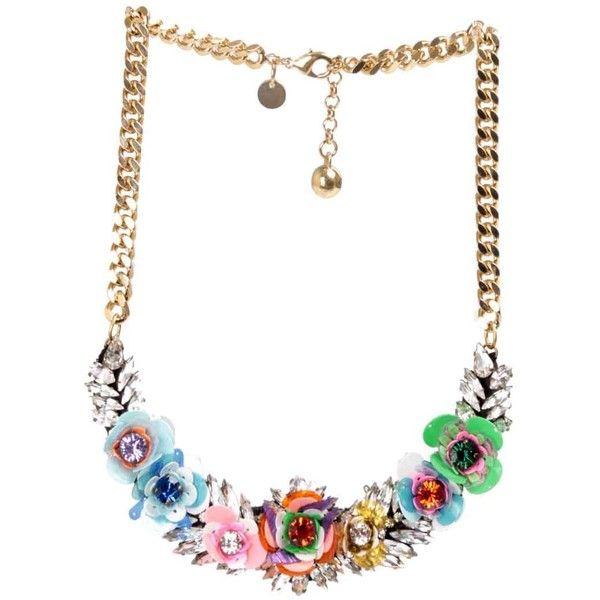 Rosa necklace Shourouk deTpmO