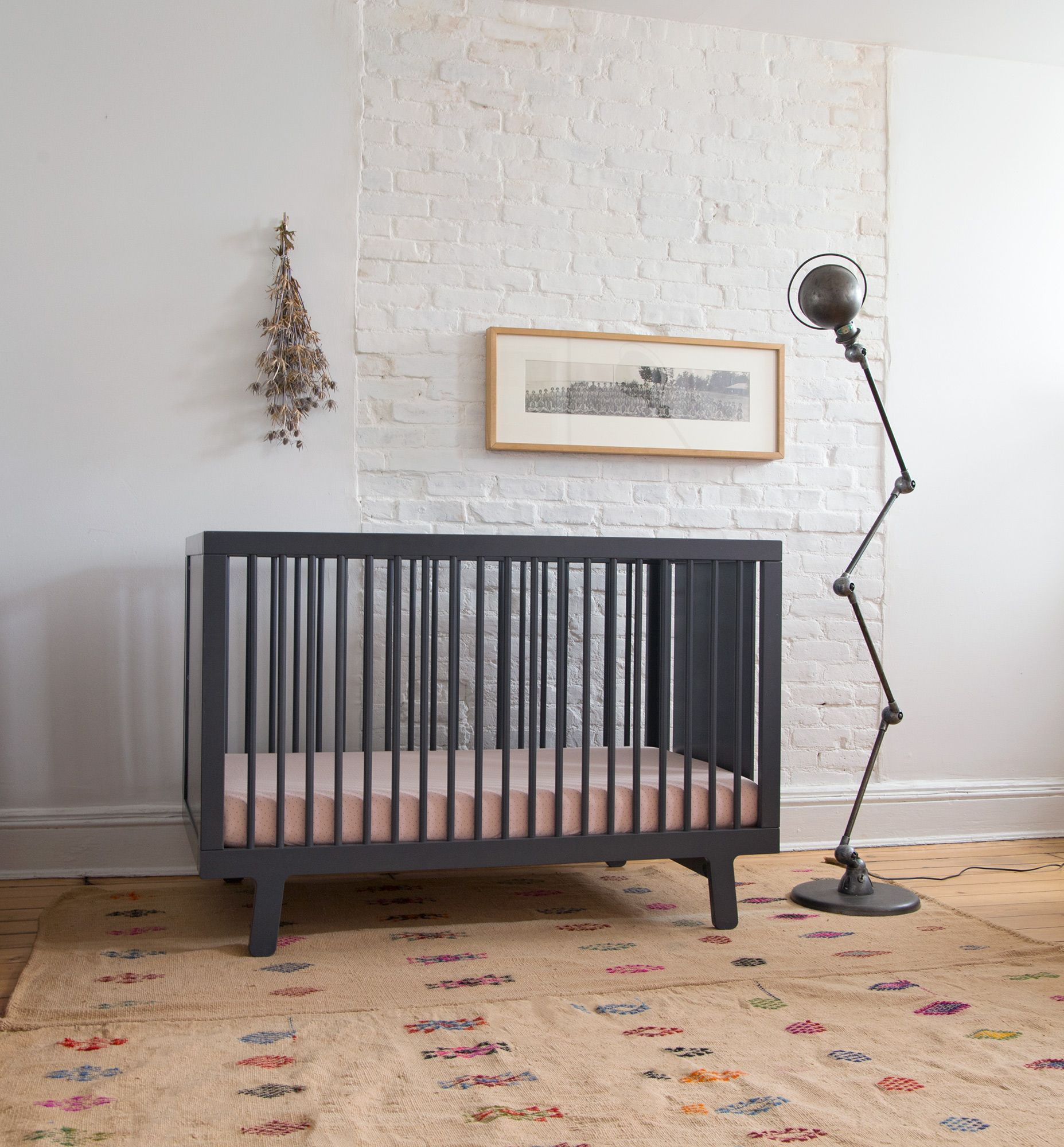 Stylish And Versatile, The Sparrow Crib From Oeuf Is The Perfect  Cornerstone For The Sparrow Nursery. This Crib Features Slim Side