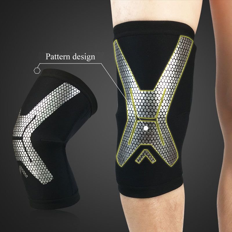 L.Mirror 1Pcs Knee Brace Compression Sleeve Support for