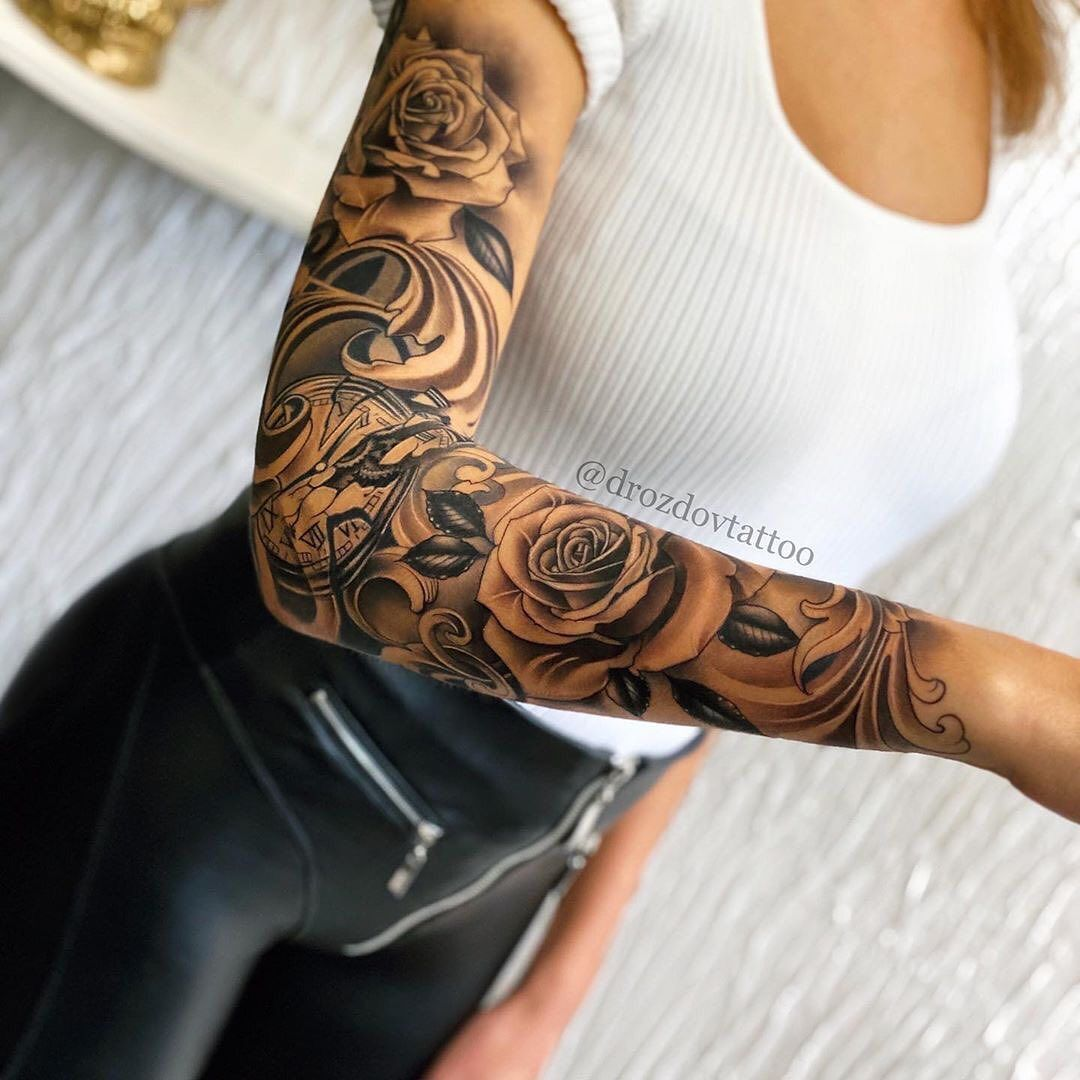 Superb Tatts On Instagram Turn On The Notifications For Daily Updates Tag S In 2020 Girls With Sleeve Tattoos Best Sleeve Tattoos Sleeve Tattoos For Women