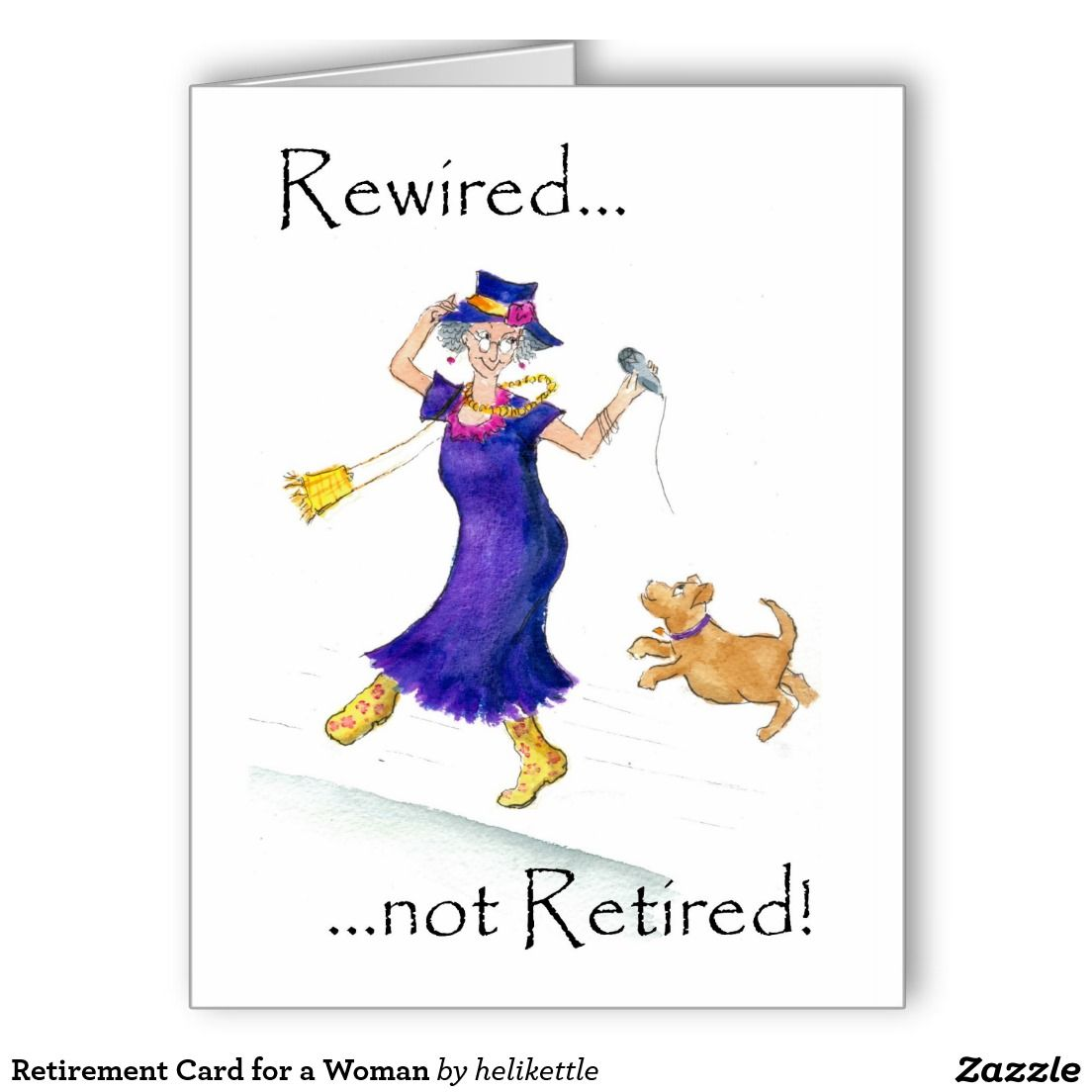Retirement Card For A Woman Pinterest Retirement Cards