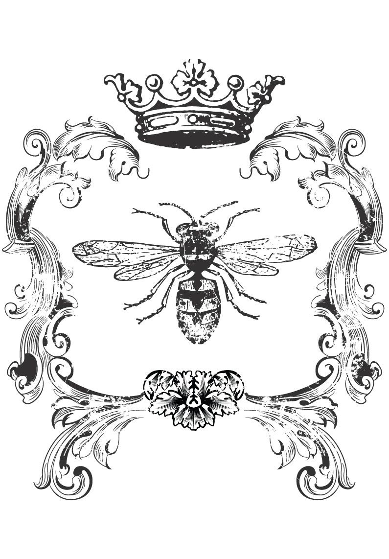 Simplicity Creative Group - Bee Home Decor Iron On Transfer
