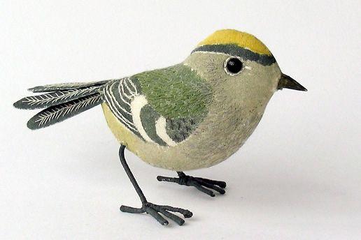 Stuffed Bird By Emily Sutton With Images Bird Sculpture