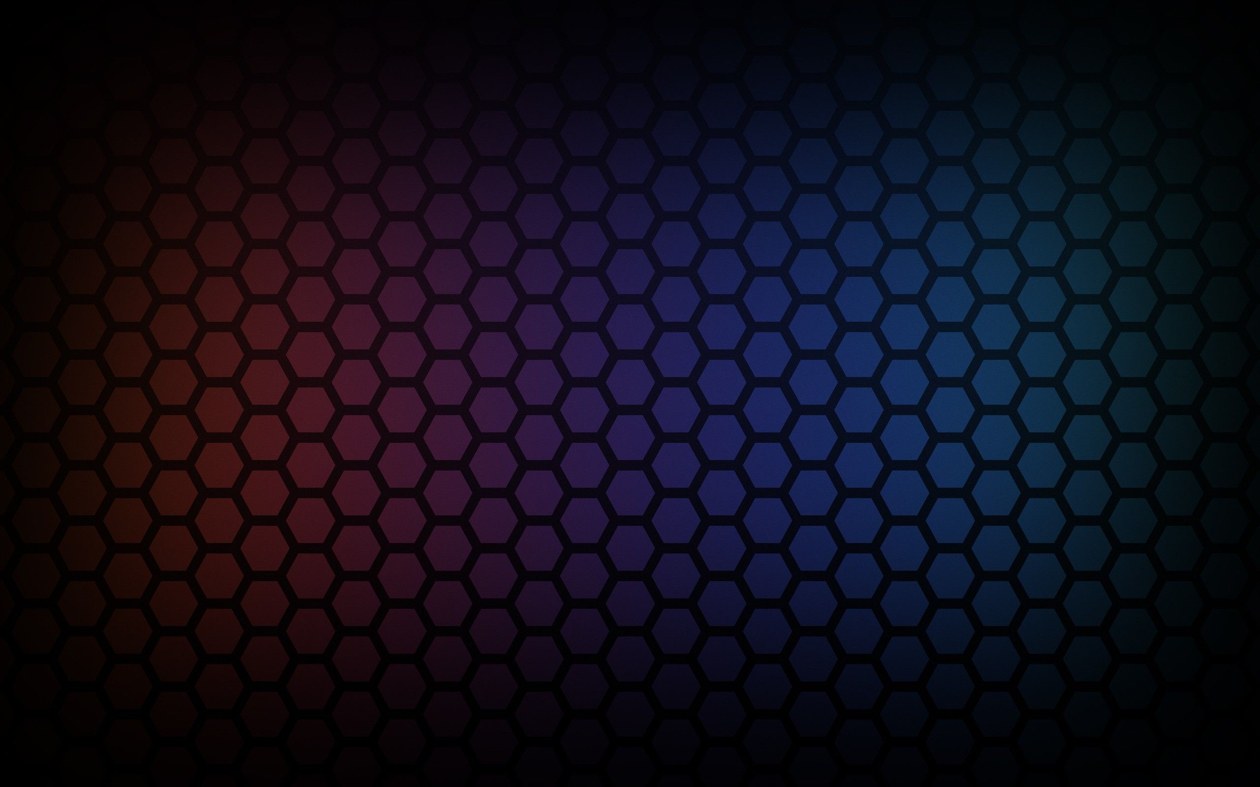 General 2560x1600 Hexagon Colorful Pattern Gradient