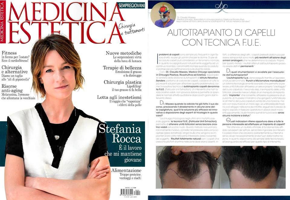 L autorevole rivista Medicina Estetica ha scelto Istituto Helvetico Sanders  per presentare ai propri lettori 682c59018aeb