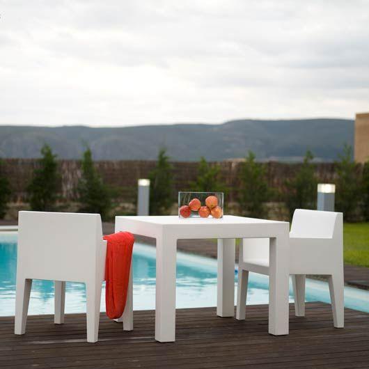 Chaise De Jardin Avec Accoudoir Jut Vondom Avec Images