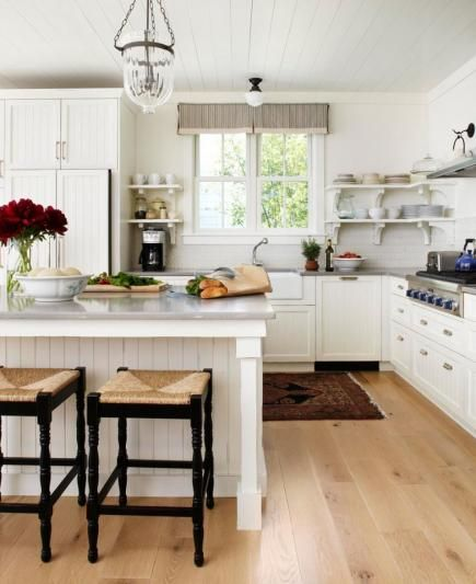Inspiring And Beautiful White Modern Farmhouse Kitchen Design My Obsession With Style Kitchens Can Be Traced Back
