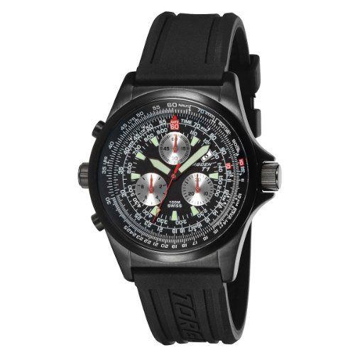0fd57aae1e1 TORGOEN Swiss T01301 Men s 42mm Aviation Watch with Chronograph