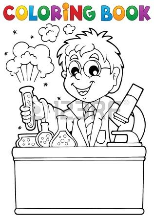 Coloring Book School Coloring Books English Lessons For Kids Science Decor