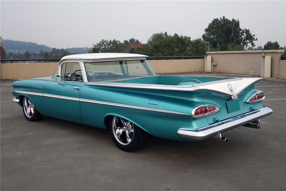 1959 CHEVROLET EL CAMINO CUSTOM PICKUP – Barrett-Jackson Auction Company – World's Greatest Collector Car Auctions