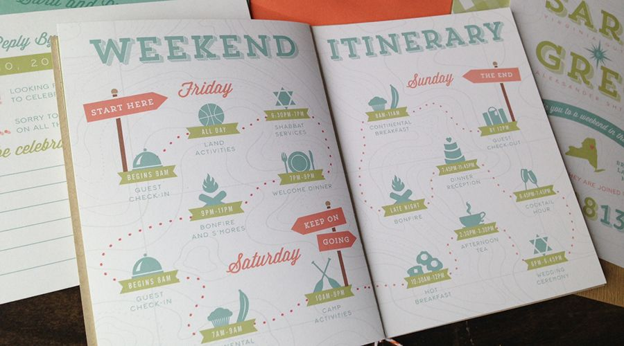 Camping Wedding Invitations: Camp Wedding Details And Ideas