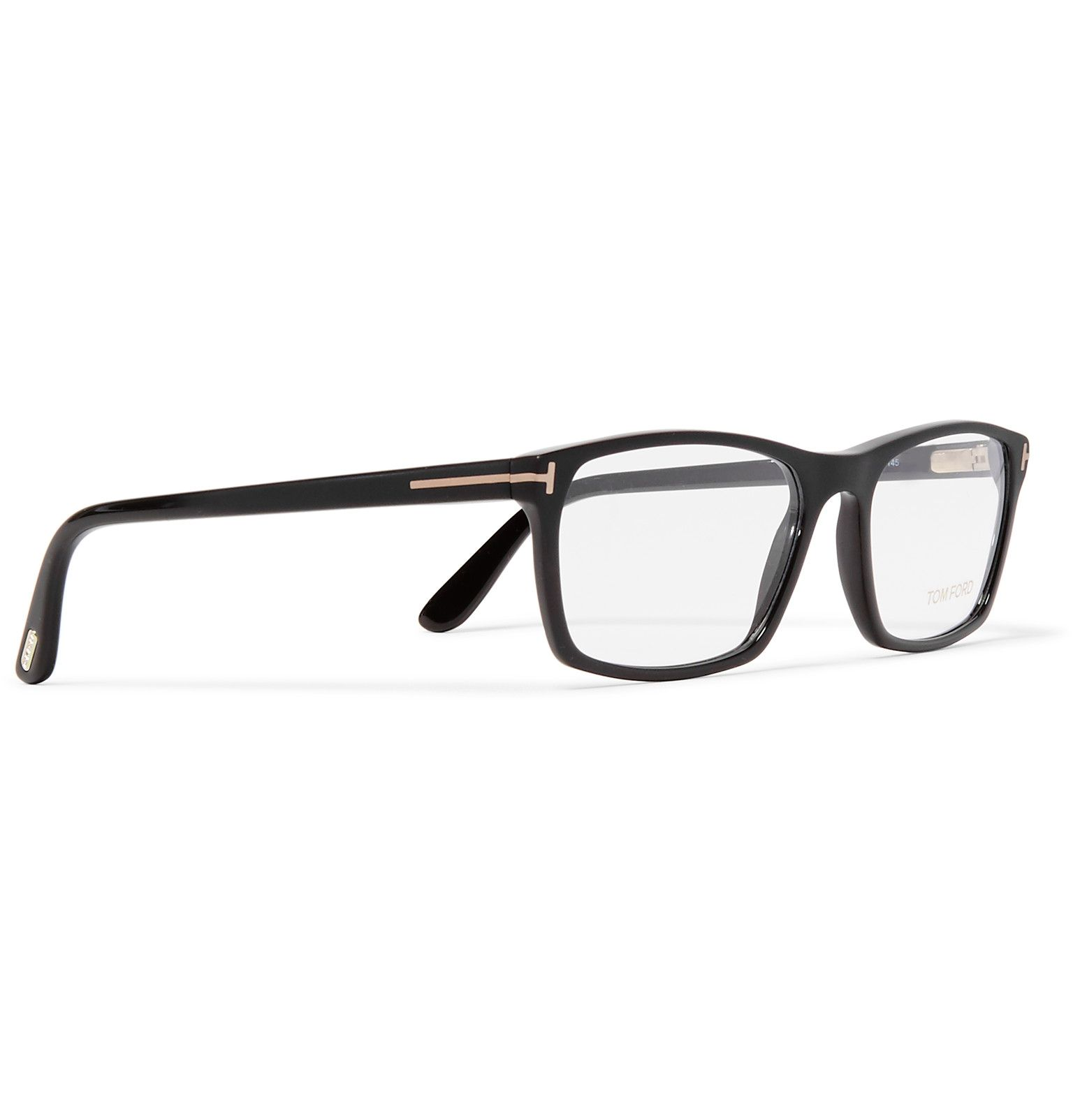 d2ec6ae7e3 TOM FORD s optical glasses are crafted in Italy from matte-acetate and  offset with smart gold accents