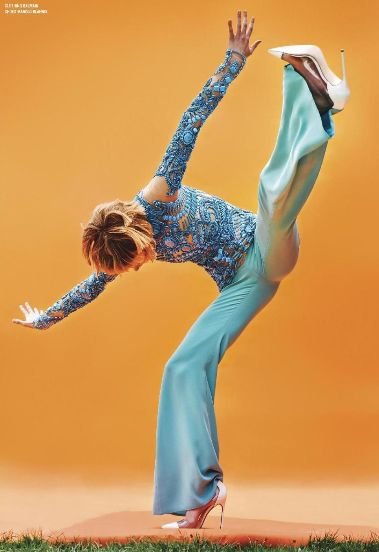 Saskia De Brauw by Ryan McGinley for V Magazine # 92 Winter 2014