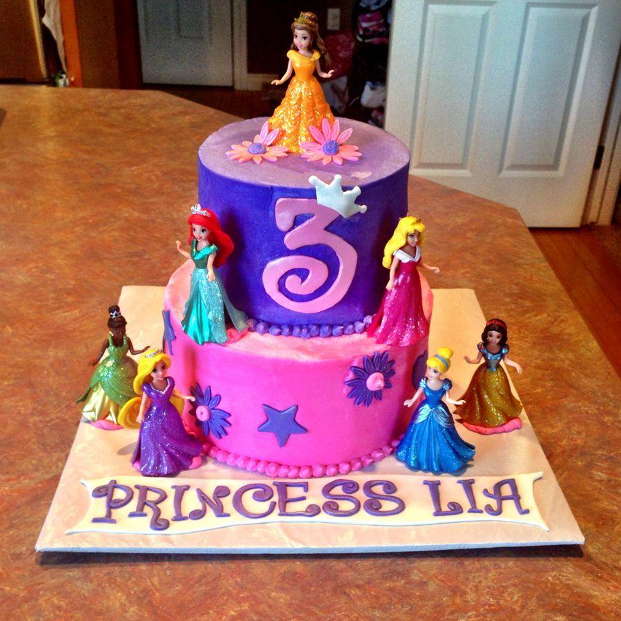 Disney Princess Cake My Cakes Pinterest