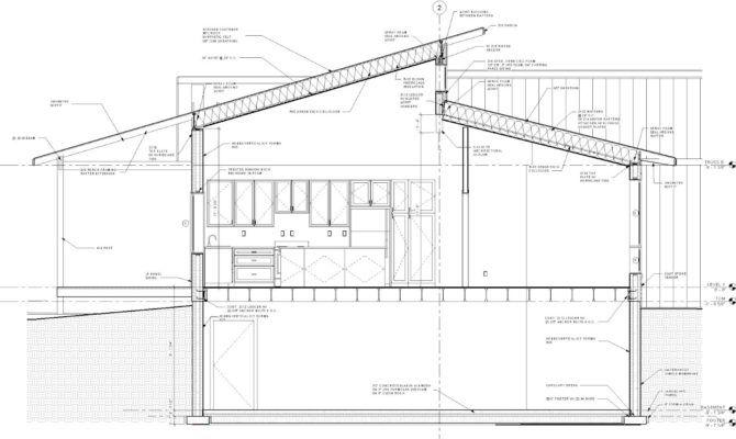 New Lizer Homestead Final Construction Plans Construction Plan Skillion Roof Cabin Floor Plans