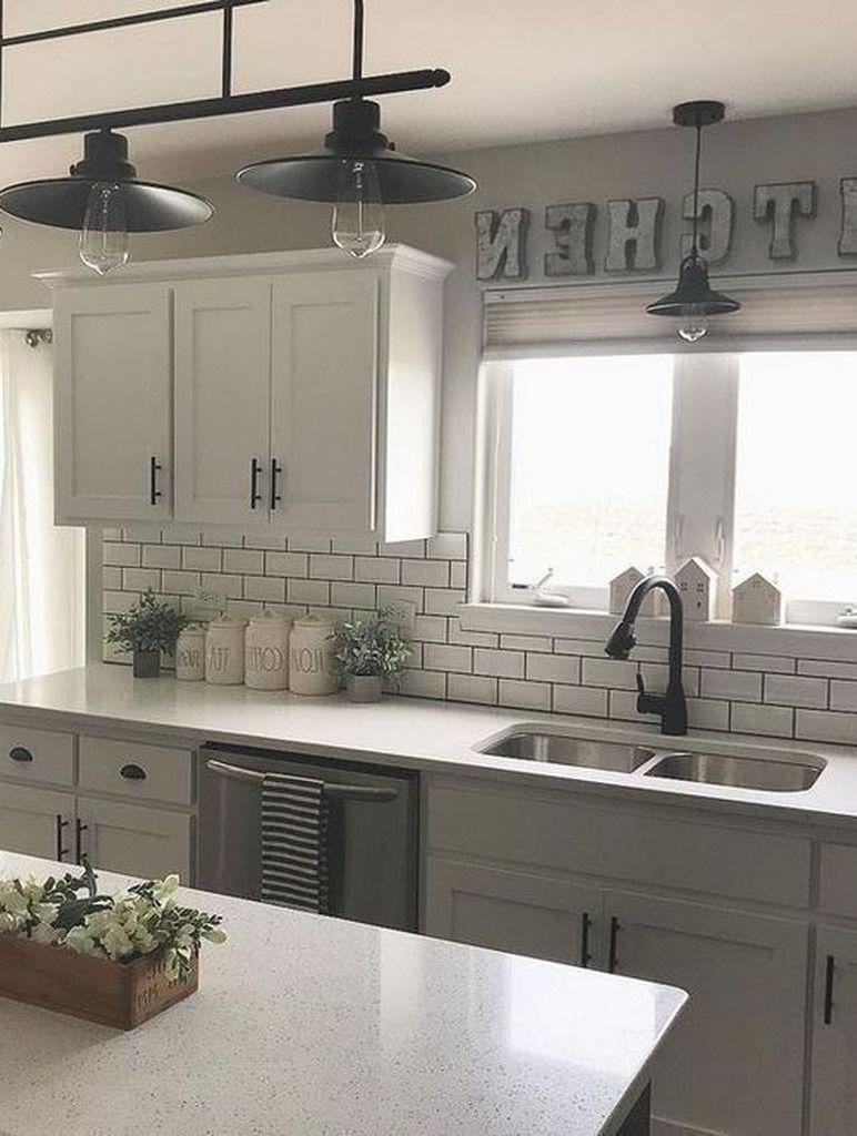 Rustic Farmhouse Kitchen Ideas To Make Cooking More Fun In 2020 Rustic Farmhouse Kitchen Kitchen Design Kitchen
