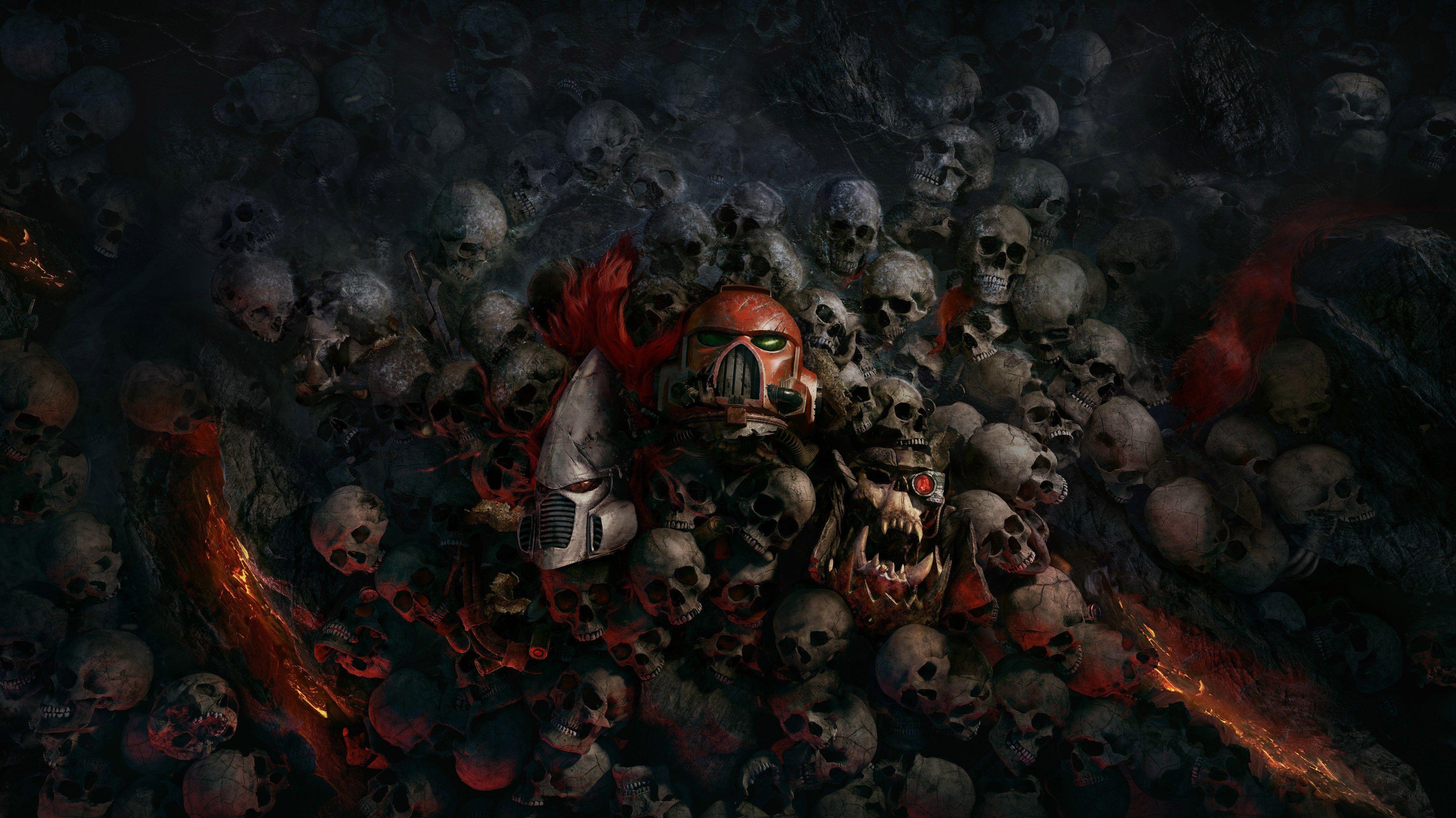 3840x2160 skull 4k wallpaper background desktop computer
