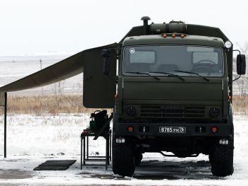 """ПМ РХБЗ-1 на шасси КамАЗ-5350 """"Мустанг"""""""