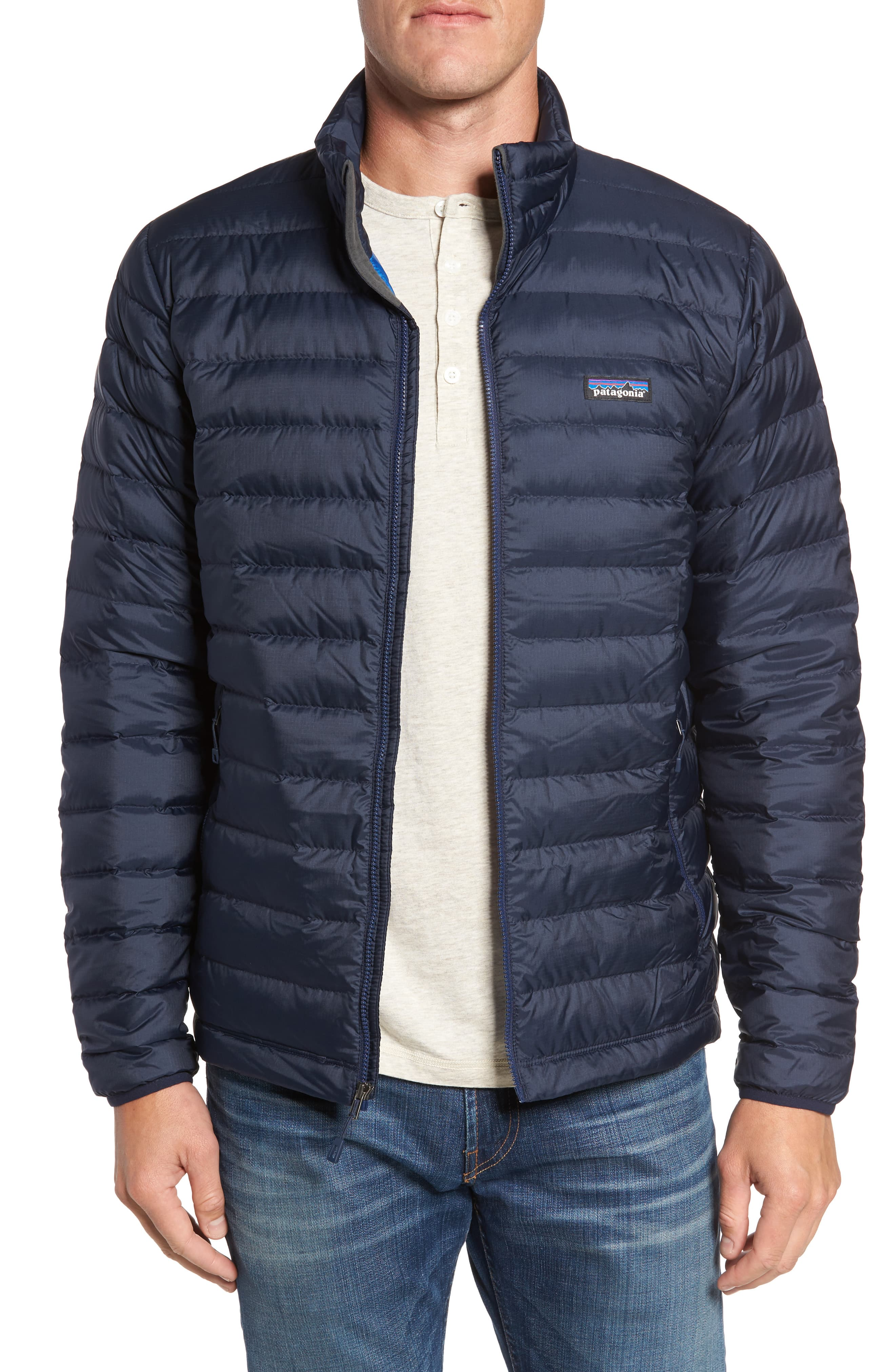 Men S Patagonia Water Repellent Down Jacket Size Small Blue Mens Clothing Styles Patagonia Mens Bomber Jacket Men [ 4048 x 2640 Pixel ]