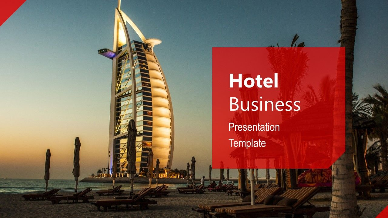 Hotel Business Powerpoint Template Slidemodel Business Powerpoint Templates Powerpoint Templates Business Presentation Templates