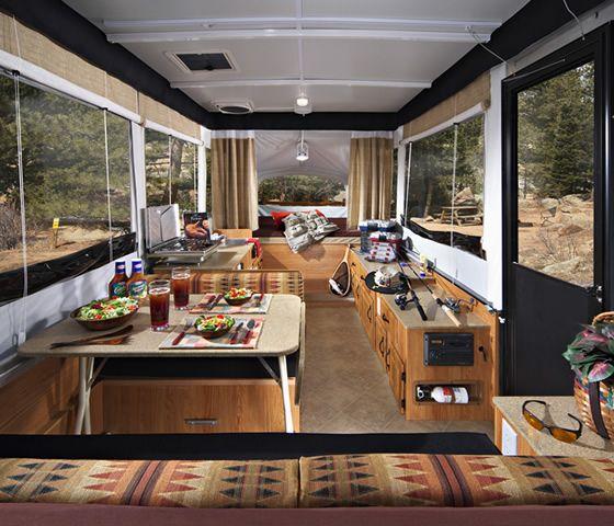 Jayco Pop Up Camper Interior 2015 Glamper Pinterest Campers Roller Blinds And Camper Interior