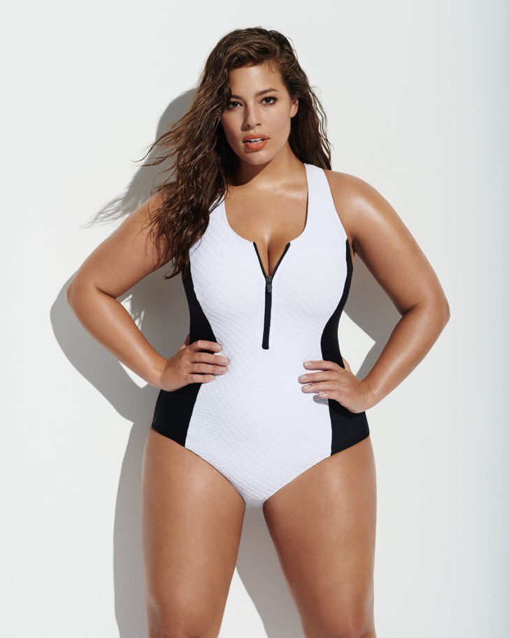 6212050f40 Pin for Later: Forever 21 Chooses Ashley Graham to Model Ridiculously  Flattering Swimsuits You'