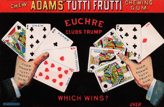How To Play Two Handed Euchre Euchre Classic Card Games Fun Card Games