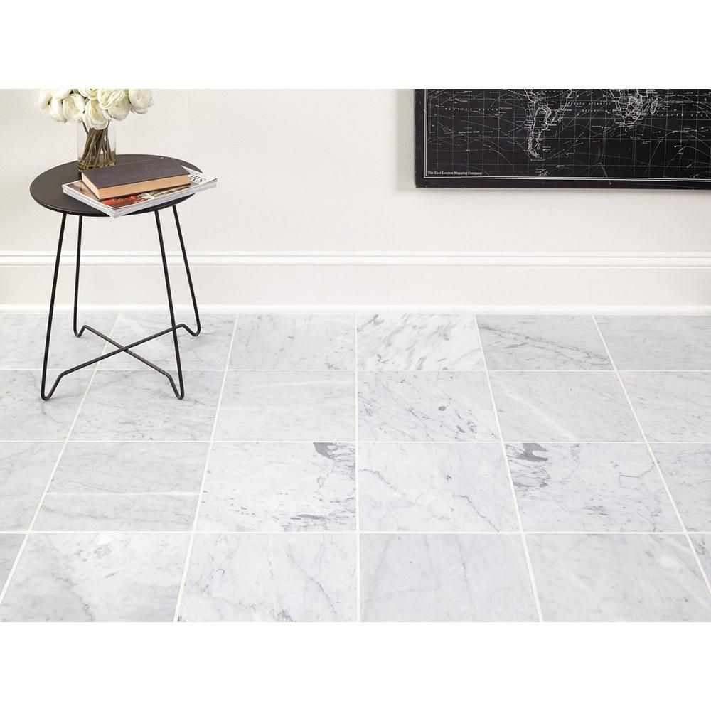 Bianco Carrara Honed Marble Tile Floor Decor Honed Marble Tiles Honed Marble Marble Tile
