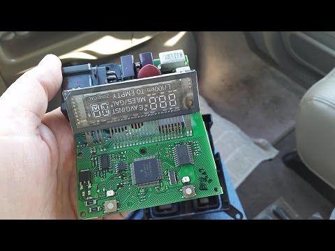 F250 F350 Overhead Display Fix P/N F81B25519C44A