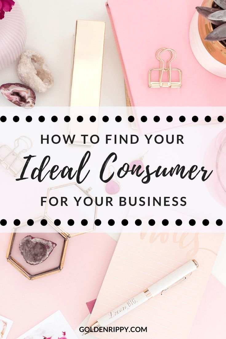How to Find Your Ideal Consumer- A Marketing Exercise - with Golden Rippy