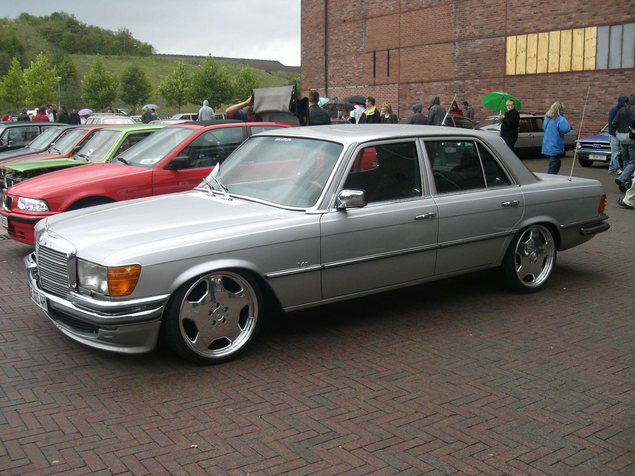 Mercedes W126 Tuning 5 Tuning W116 S Klasse Erste Klasse