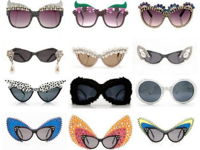 1c7b277c0f3 DIY easy embellished sunglasses tutorial... Fun festival wear!