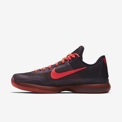 superior quality 78c68 f8fb3 NEW Kobe X Black   Bright Lakers Basketball Crimson-Anthrct 705317 060 SZ  11 Clothing, Shoes   Accessories Men s Shoes Athletic  nike  jordan  shoes  ...