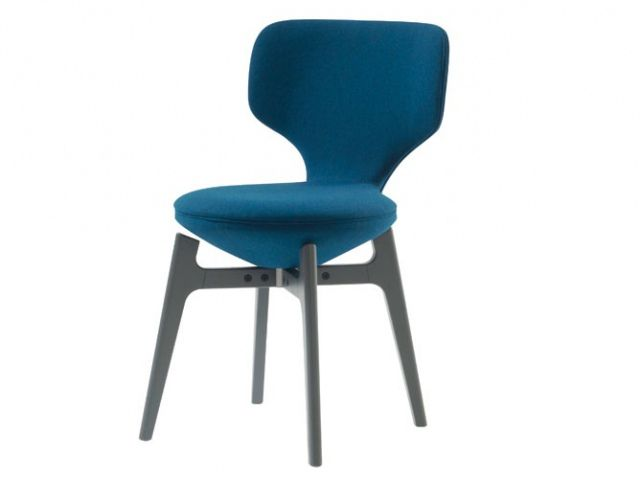 Chaise Bleu Canard Printemps T 2016 Roche Bobois