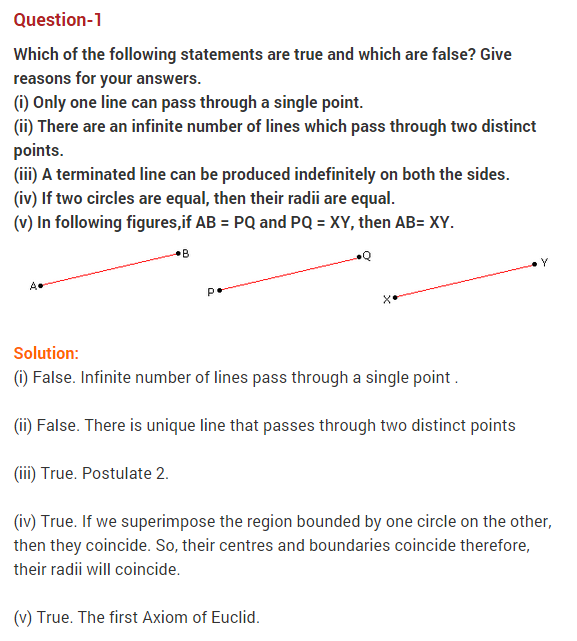 ncert solutions for class 9 maths chapter 5 introduction