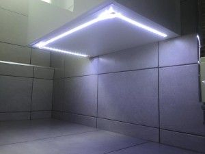 Bathroom Lighting Glasgow under sink lighting - clever bathroom solutionsjrc bathrooms