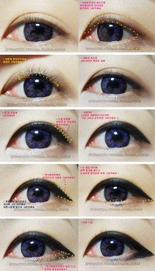 7 Different Ways To Wear Eyeliner Puppy Eyes Makeup Eye Makeup