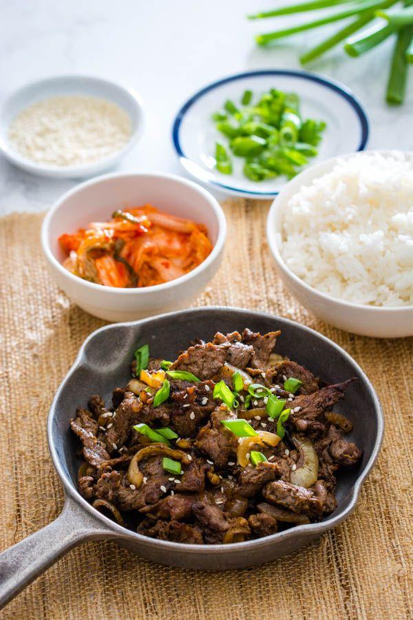 Korean Beef Bulgogi | Recipe in 2020 | Bulgogi, Bulgogi ...